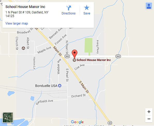 School House Manor Map - Click for larger map