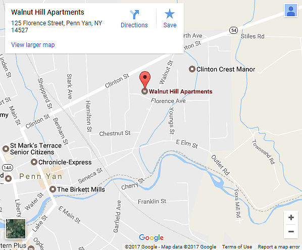 Walnut Hill Apartment Map - Click for larger map
